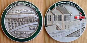 Severn Valley Railway Geocoin