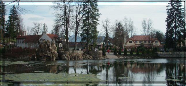 Rybník/Pond Rajecké Teplice