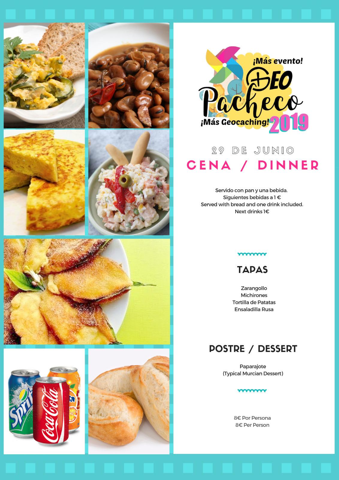 Geo Pacheco 2019 Cena Dinner