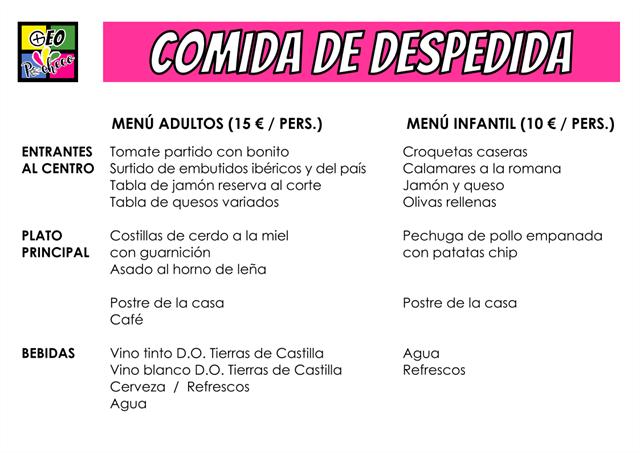 Menu Español