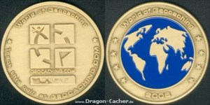 Dragon-Cacher Geocoin #1