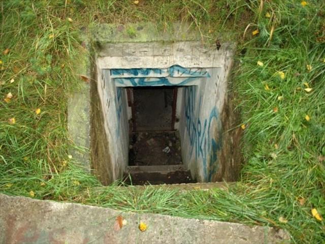 Vstup do bunkru