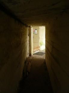 Chodba v bunkru