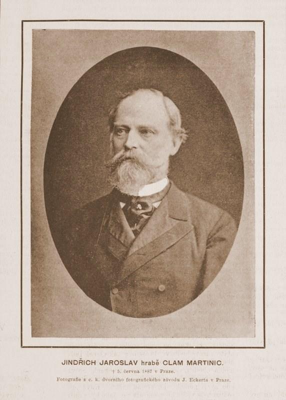 Jindrich Jaroslav hrabe Clam-Martinic