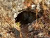Entrata della miniera della passata a Lecco