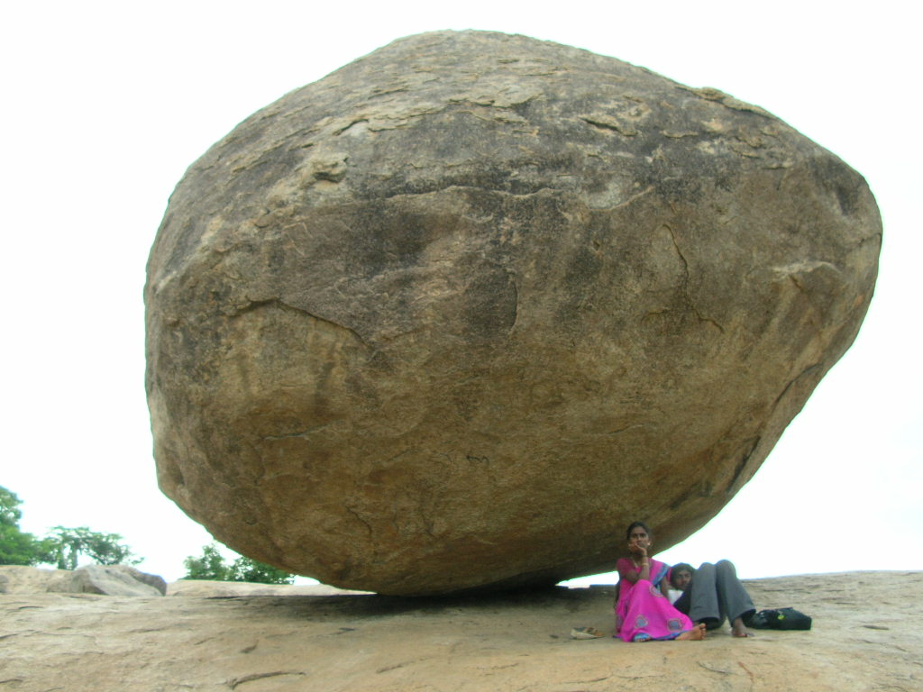 Gc ca mahabalipuram and krishna s butter ball