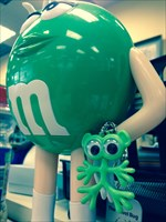 A big green friend