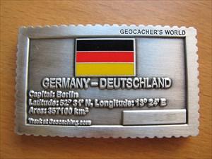 Geocacher's World Geocoin -GERMANY-