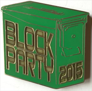 LordT's Block Party 2015 Ammo Can Geocoin - Front