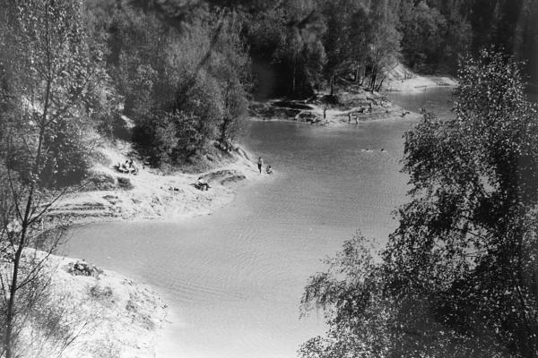 Kaolínové jezírko (1976) / Kaolin lake (1976)