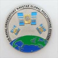 NAVSTAR Geocoin front