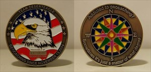 Team Desert Eagle Geocoin