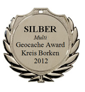 SILBER (Multi) - Geocaching Award Kreis Borken 2012