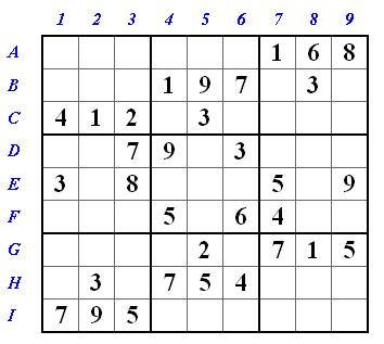 Sudoke-Rätsel