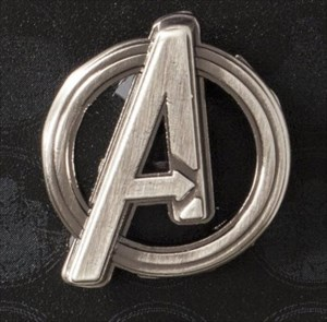 Marvel Avengers Logo Pin