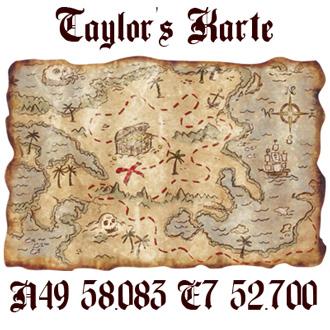 Schatzkarte von Captain Taylor