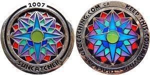 Suncatcher 2007 Geocoin
