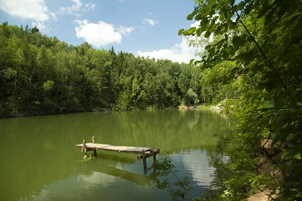 Kaolínové jezírko (2013) / Kaolin lake (2013)