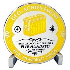 Geo-Achievement Finds 500 Geocoin