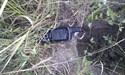 Okotoks 008 gone pipe at caribiner end