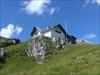 ...beim Abstieg von der Hütte....