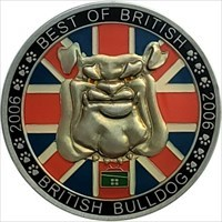 Best of British Geocoin front