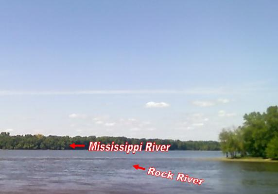 GCFGT Rock N Mississippi Earthcache In Illinois United - Two longest rivers in the united states