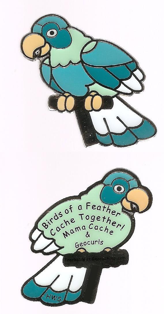 Birds of a Feather Geocoin