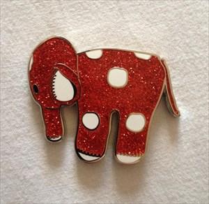 Glitter Elephant