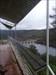 Balcão panorâmico com vista para a barragem