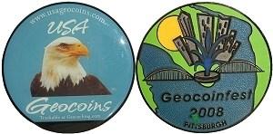 Geocoinfest 2008 by USA Geocoins