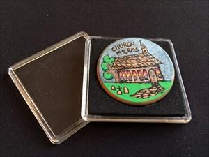 Church Micro Traveller coin.