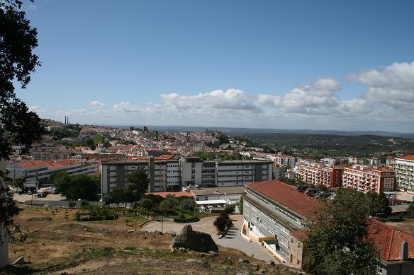 Vista sobre Portalegre