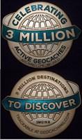 3 Million Geocaches