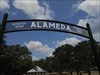 Alameda Cemetery log image