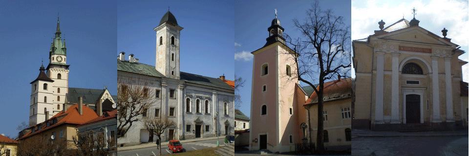 kremnické kostoly