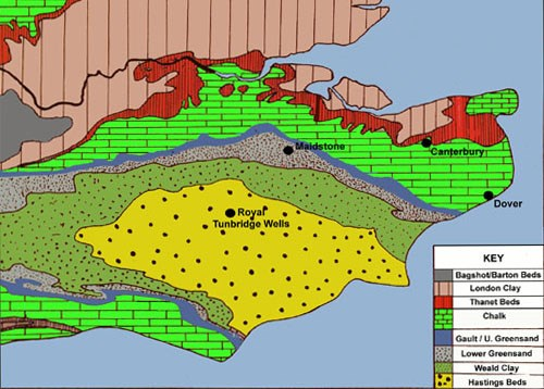 Gc510xg soil parent material model pmm earthcache in for Soil and geology