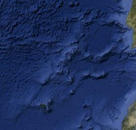 Ocean round Madeira