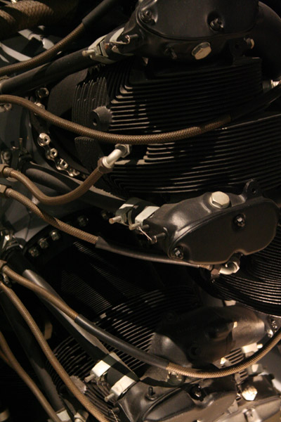 USAF Museum Tour - View of an Engine