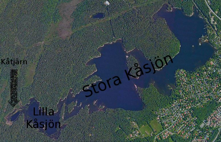 Map K¨sjön