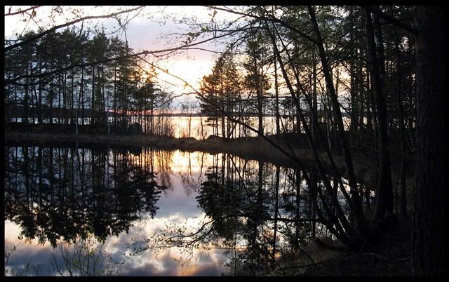Ilta Annikinniemessä