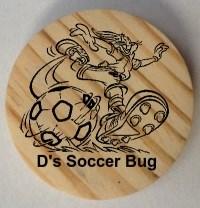 D's Wooden Soccer Bug