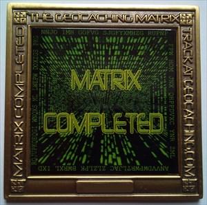 The Matrix Geocoin