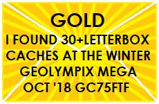 GC75FTF WINTER GEOLYMPIX: ASHRIDGE 2018 (Mega-Event Cache) in