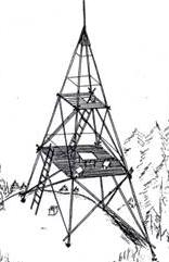 drevená vež