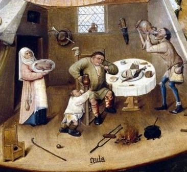 obzerstvi podle Hieronyma Bosche