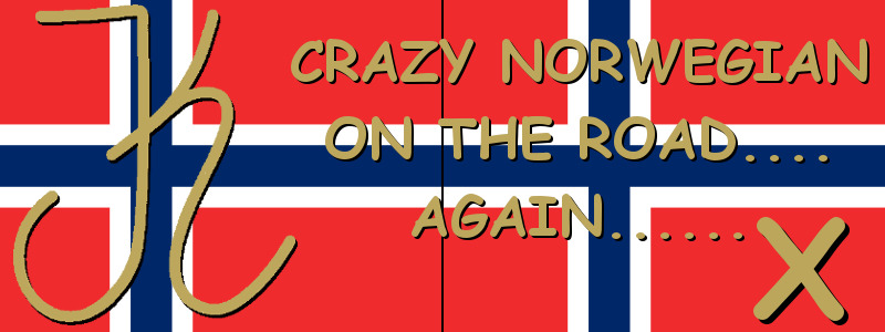Crazy norwegian on the road again X