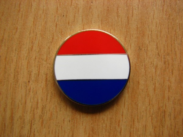 The Netherlands Flag Micro Geocoin - front