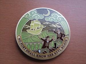 Compass Rose Geocoin 2012 - Vorderseite
