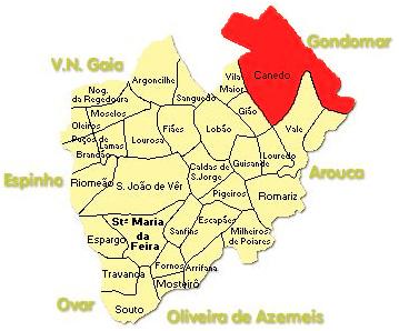 Mapa do Concelho